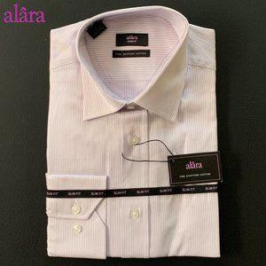 Alâra Pin Stripe Fine Egyptian Cotton Dress Shirt
